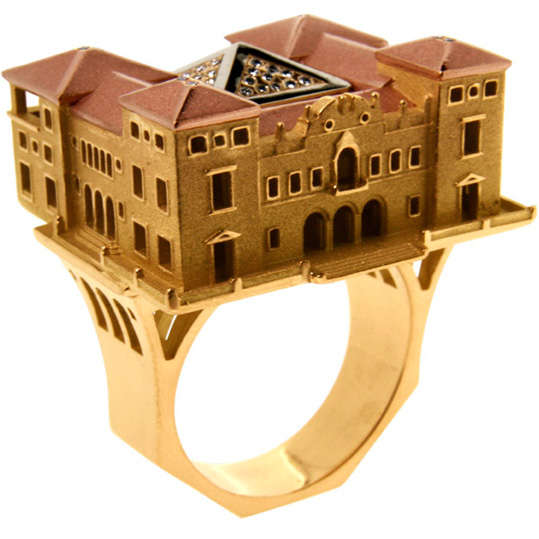 23 Architectural Jewelry Designs