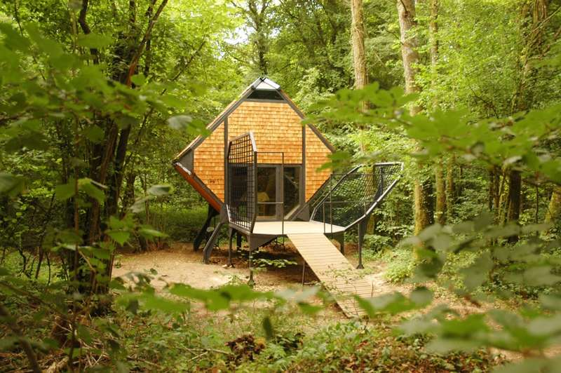 38 examples of nature blended architecture for Ecofriendlyhouses net