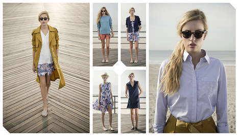 Nautical Eco-Friendly Lookbooks - The Svilu Spring/Summer Looksbook Boasts Boyish Fashion