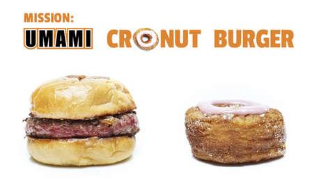 Monstrous Cronut Burger Hybrids