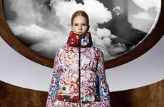 Architecturally Stark Outerwear - The Moncler M Capsule Collection is Structurally Sound