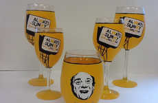 Comedy-Inspired Glassware - This It's Always Sunny in Philadelphia Product is Great for Wine Fans