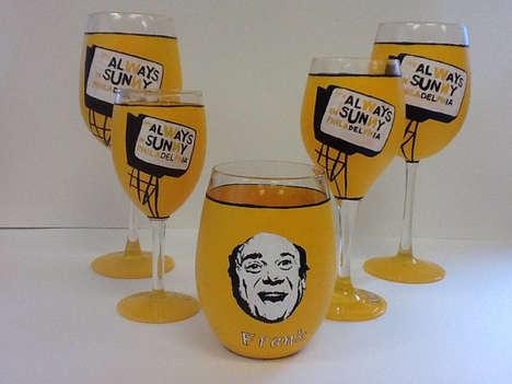 Comedy-Inspired Glassware