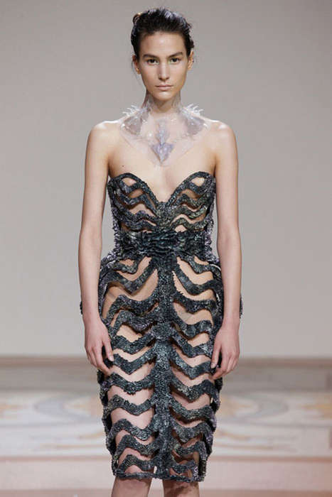 Magnetically Grown Dresses