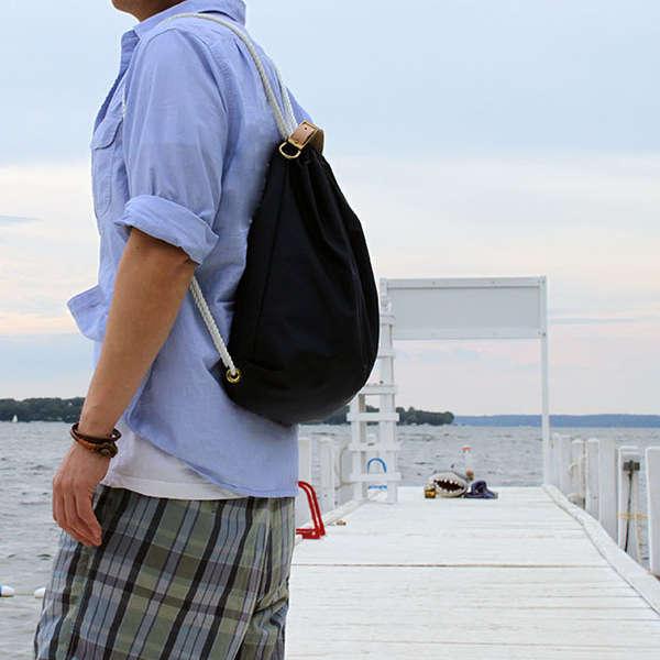 45d3ef09286a Versatile Reinvented Packs : drawstring backpack by mochibag