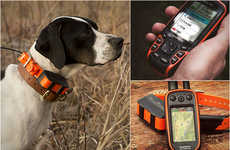 Sophisticated Pet Trackers - The Garmin Astro Dog Tracking System Can Keep an Eye on Up to Ten Dogs