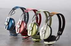 Chromatically Colored Earphones - The Sennheiser Momentum Color Series Gives the Line a Joyful Boost