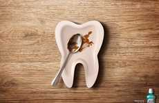 Tooth-Shaped Plate Ads