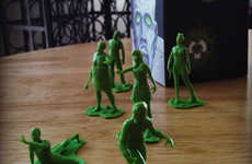 Zombified Toy Soldiers - The 'Box-O-Zombies' Toy Soldiers are Missing a Pulse
