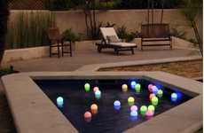 Ethereal Luminescent Garden Lights
