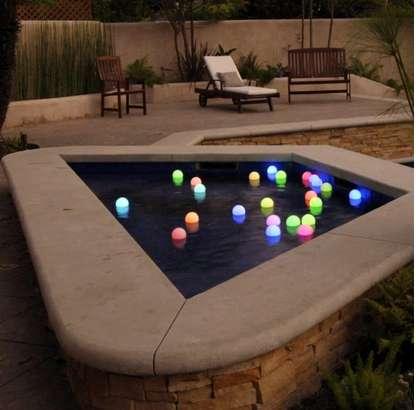 Ethereal Luminescent Garden Lights