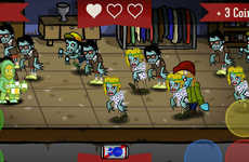 Hipster Zombie Games - This Highly Addictive Arcade Game Lets You Take on the Hipster Zombies