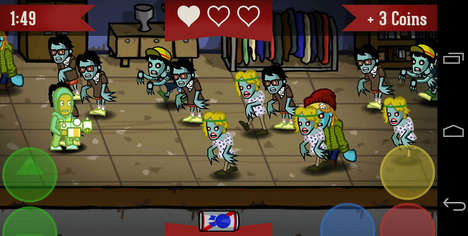 Hipster Zombie Games