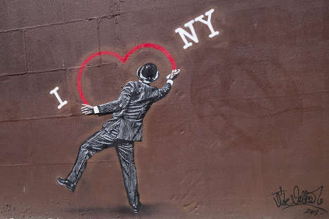 Pop Culture-Critiquing Street Art (UPDATE)