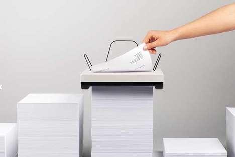 Minimalist Vertical Printers