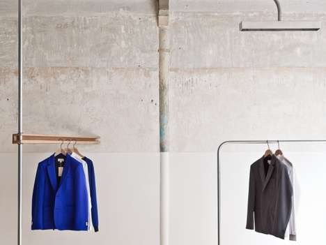 Exquisitely Basal Boutiques - The Melinda Gloss by Cigue Store Boasts a Focus on Menswear Design