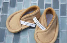 Fortune Cookie Baby Booties - These Sushibootie Baby Slippers Will Bring Your Child Good Luck
