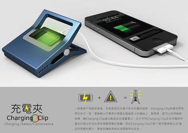 wearable phone charger