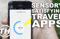 Sensory-Satisfying Travel Apps - Jamie Munro Discusses the Best Travel Apps to Use Around the World