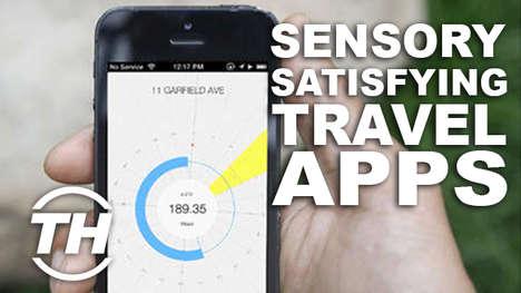 Sensory-Satisfying Travel Apps