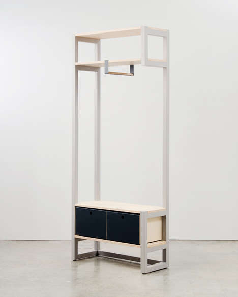 Visually Light Compact Furniture - Nine X Nine by D Calen Knauf Addresses Furnishing Small Spaces