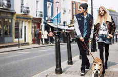 Layered Urban Fashion - The Pepe Jeans Fall Campaign Stars a Casual Chic Cara Delevingne