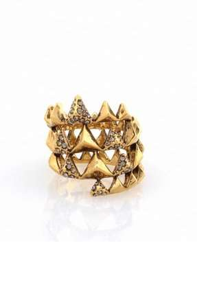 The 'House of Harlow' Pyramid Wrap Ring is the Perfect Accessory