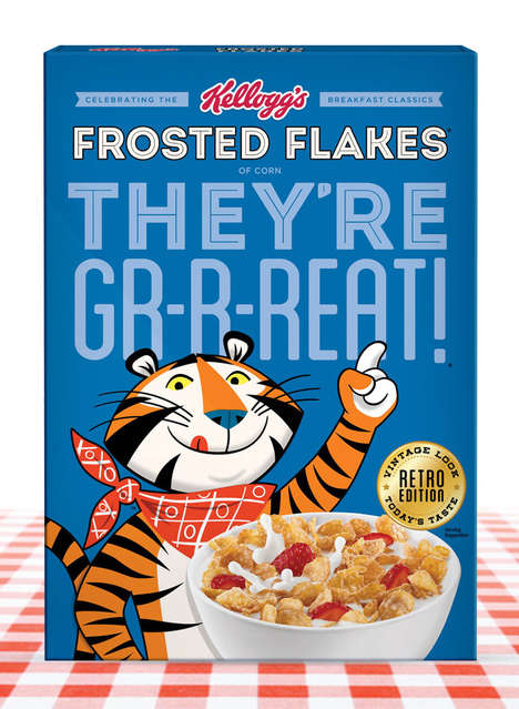 Vintage-Inspired Cereal Boxes