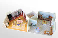 Nostalgic TV Show Dioramas - This Golden Girls Set Replica Can Finally Fit in Your Living Room