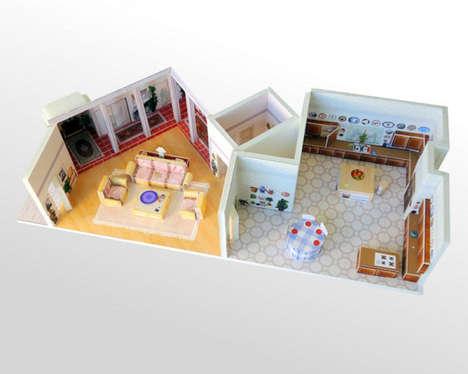 Nostalgic TV Show Dioramas