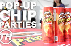 Pop-Up Chip Parties - The Toronto Pringles Party Celebrates the Long Weekend with a Classic Snack