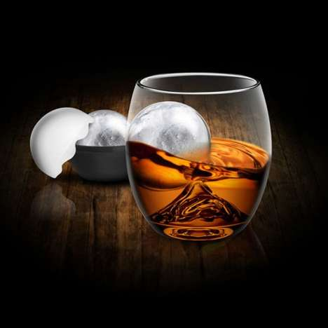 Swirl-Encouraging Whiskey Ware - The ROCK Glass is Designed to Quickly Chill Down Quality Spirits