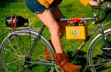 Beer-Carrying Bike Clasps