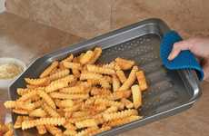 Multifunctional Fry Trays - This Super Fly French Fry Baking Sheet Cooks Perfect Potatoes