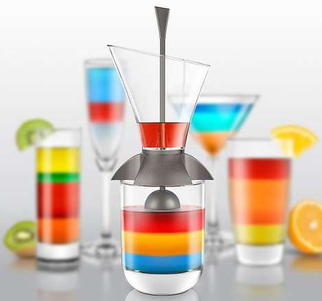 Luscious Layered Cocktail Makers