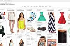 Pinboard Web Shops - 'Amazon Collections' is a Pinterest Look-Alike