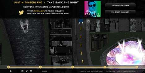 Web-Mapped Song Promotions