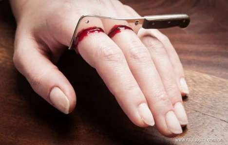 The 'Cleaver Ring' Makes Your Hand Look Morbid