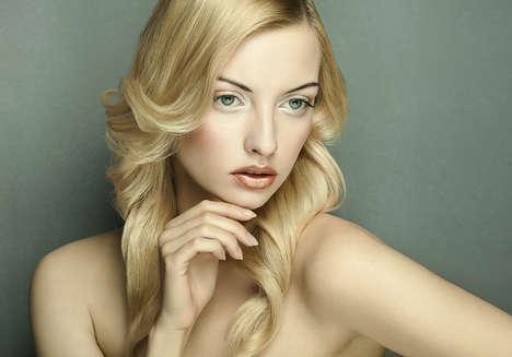Fair-Haired Beauty Editorials