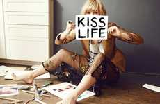 Adorably Flirtatious Fashion Ads - The Sass & Bide Fall Campaign Stars Suki Waterhouse