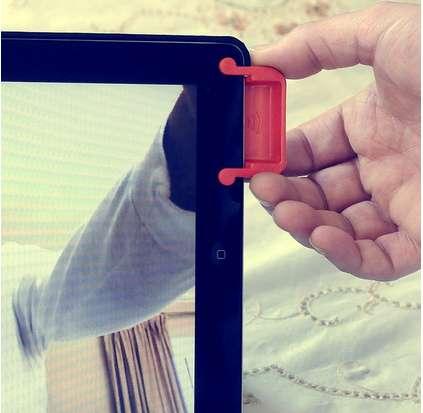 Sound-Enhancing Tablet Speakers