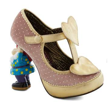 Whimsical Gnome-Shaped Heels