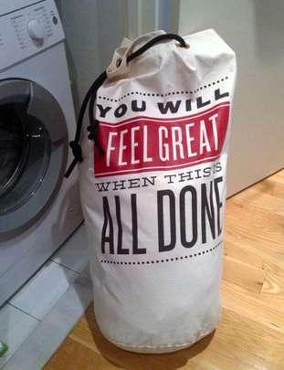 Motivational Laundry Bags