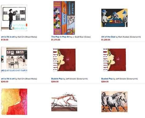 Fine Art Online Stores