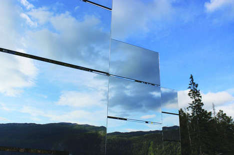Mirror-Lit Mountain Towns
