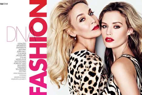 Model Mother-Daughter Editorials