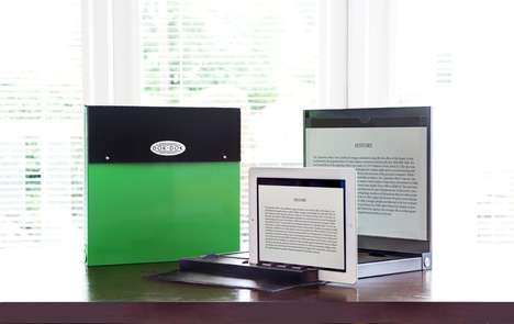 Paperless Office Scanners - DOK-DOK Turns iPads into Portable Document Scanners