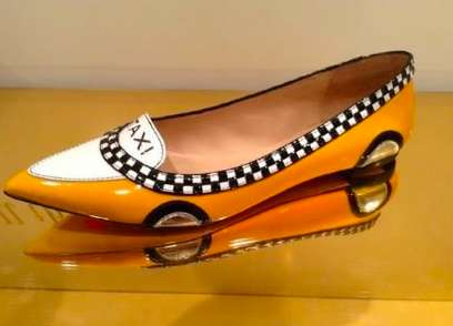 These Kate Spade Taxi Flats are a Fun and Practical Way to Get Around Town