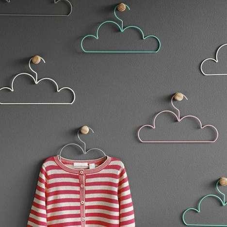 Colorful Cloud Hangers