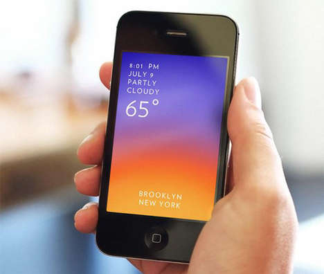 Colorful Weather-Detecting Apps